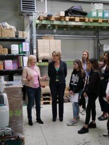 Barbara Regitz, CSU-Direktkandidatin für Nürnberg-Nord bei der Landtagswahl 2018, besucht zum Girls' Day am Donnerstag, 26.4.2018 um 12.30 Uhr die Firma Fürst GmbH in Nürnberg.