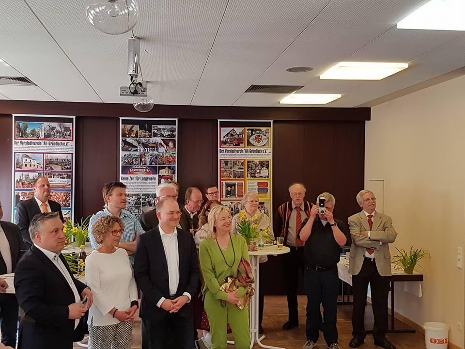 Jahresempfang der Arbeitsgemeinschaft der Bürger- und Vorstadtvereine Nürnbergs e.V. (AGBV) in Großgründlach