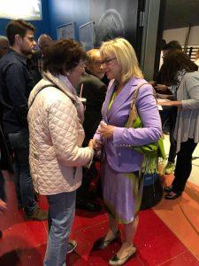 """Barbara Regitz Generationen übergreifend bei """"Söder Persönlich"""" im Admiral Kino"""