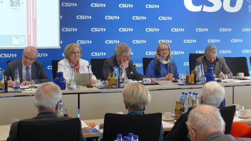 CSU-Fraktion im Bayerischen Landtag wählt Barbara Regitz zu politischen Sprecherin für die Senioren