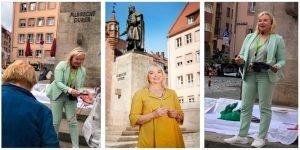 Stadt(ver)führung mit Barbara Regitz, MdL auf Dürers Spuren